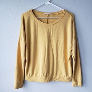 Double Zero Tops - 🌴 Double Zero Mustard Colored Top
